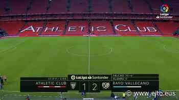 El Athletic cae ante el Rayo Vallecano tras encajar un gol en el último minuto