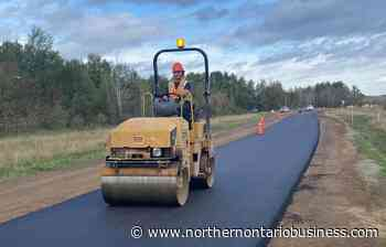 'Greener' asphalt tried out in City of Thunder Bay - Northern Ontario Business