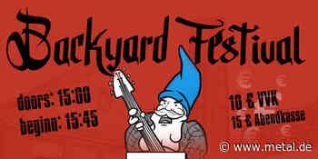 Backyard Festival 2021 - Greven feiert wieder! • metal.de - metal.de