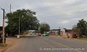 Cierran el tránsito en un tramo de la avenida Quaranta de Posadas - Primera Edicion