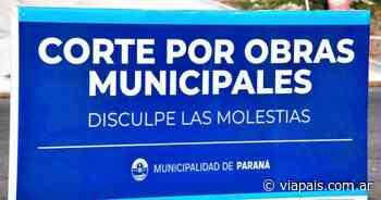 Habrá cortes de tránsito en el sureste de Paraná - Vía País