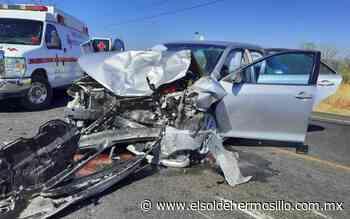 En Hermosillo, imprudencia ocasionan accidentes de tránsito - El Sol de Hermosillo