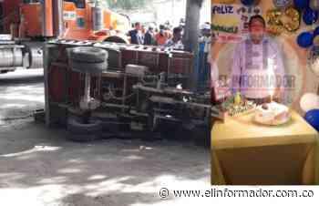 Muere un conductor en accidente de tránsito en el oriente de Santa Marta - El Informador - Santa Marta