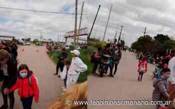 Tras el reclamo, controlan el tránsito a la salida de la Escuela 27   La Opinión - La Opinión Semanario