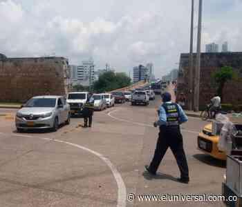 Taxistas levantan paro: se normaliza el tránsito vehicular en Cartagena - El Universal - Colombia