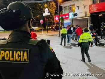 Sin homicidios ni muertes por accidentes de tránsito terminó Popayán el fin de semana de Amor y Amistad - Radio Super Popayán