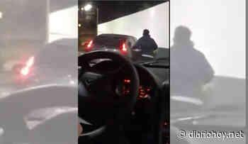 Locura en el AutoMac de Parque Lezama: una discusión de tránsito casi termina en tragedia - Diario Hoy