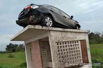 ¿En Entre Ríos los autos vuelan?: insólito accidente de tránsito - El Litoral