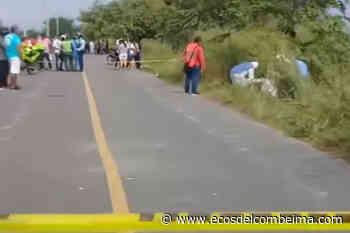 Ciudadana murió tras un accidente de tránsito en el sector de la Caimanera - Ecos del Combeima