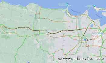 Comienza a fluir el tránsito en la autopista PR-22 tras varios accidentes leves - Primera Hora