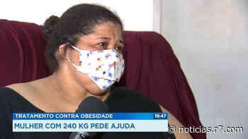 Mulher de 240 quilos pede ajuda em Santa Maria: 'Me sinto presa dentro de casa' - HORA 7