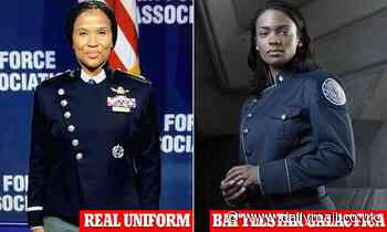 Space Force unveils new dress uniform - and they are immediately compared to Battlestar Galactica