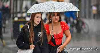 UK weather forecast: Winds and rain to lash the north as south to bask in 23C today