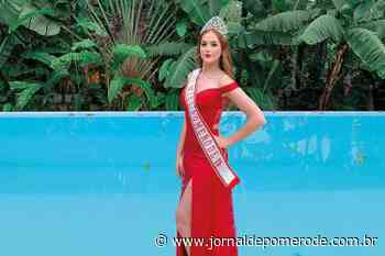A nova Miss Pomerode - Jornal de Pomerode