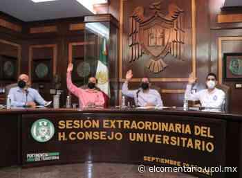Aprueba Consejo Universitario programas Lazos e Ideas y la Comisión de Seguridad y Protección Civil - El Comentario