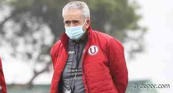 Gregorio Pérez dio a conocer que el tiempo es uno de los principales rivales de Universitario - Diario Depor