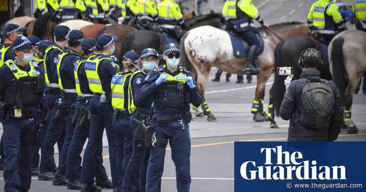 'We will be very swift': riot police on Melbourne streets to prevent third day of protests