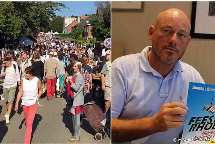 """Organisator rommelmarkt verwacht 40.000 bezoekers, maar is niet van plan om te gaan controleren op mondmaskers: """"Taak van politie"""""""
