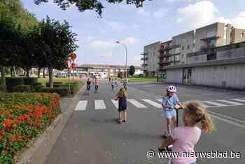 Verkeersvrij ravotten op basisschool Sint-Hendrik