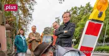 Stolpersteine halten in Bensheim die Erinnerung wach - Echo Online