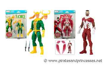 Classic Loki and Falcon Join Marvel Legends' Retro Toy Biz Line - Pirates and Princesses