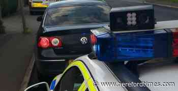 Driver was over drug-drive limit on Herefordshire road