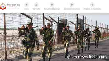BSF Constable Recruitment 2021: Last day today, apply on rectt.bsf.gov.in