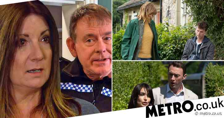 Emmerdale spoilers: 29 new images reveal police shock, affair twist and death trauma