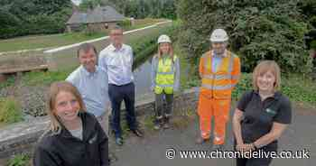 Work on £2.7m flood scheme in Ponteland completed after just over a year