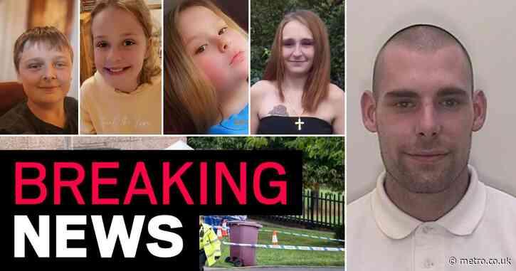 Boyfriend charged with murder over deaths of mum and three children