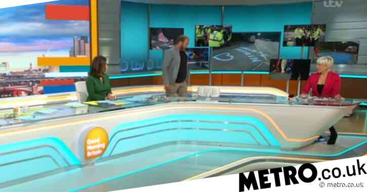 Insulate Britain guest storms off Good Morning Britain after explosive clash with Susanna Reid and Richard Madeley