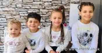 Hunt for four missing siblings aged between 2 and 11 after they vanish from home