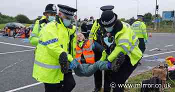 M25 protests: Judge grants injunction against climate activists
