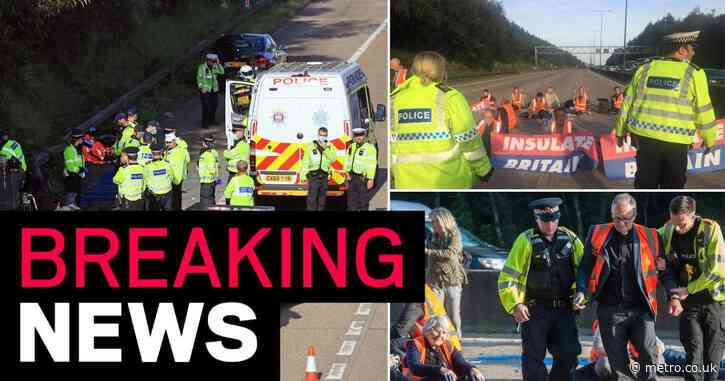 National Highways granted injunction to stop protesters blocking M25