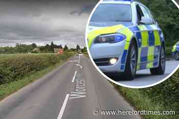 Partygoer banned from the roads after Herefordshire stop