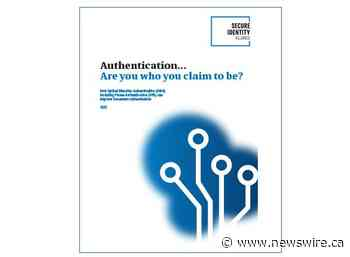 Secure Identity Alliance guide looks at the role of Optical Machine Authentication in proving identity