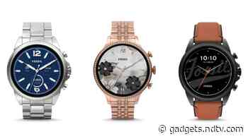 Fossil Gen 6 Smartwatch With Google's Wear OS, SpO2 Sensor Launched in India