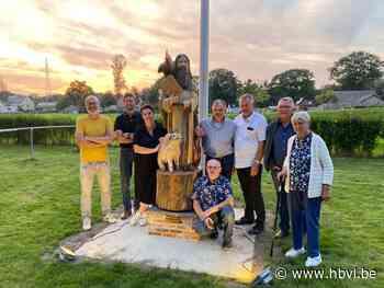 Sint-Theunis vereeuwigd op 't Hoksent - Het Belang van Limburg