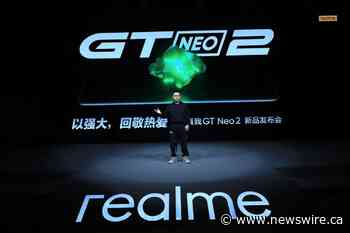 realme Introduces Neo Flagship Killer realme GT Neo2 in China Starting at 2,499 RMB