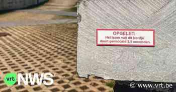 Eerste Nutteloze Borden Wandeling voor West-Vlaanderen in Ieper: Gezocht gevels voor de nutteloze bordjes - VRT NWS