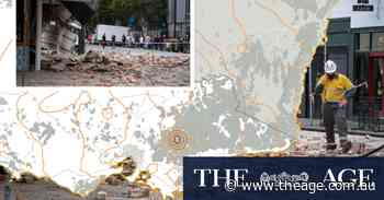 'It was just a feeling of panic': The long terrifying moments an earthquake shook Victoria