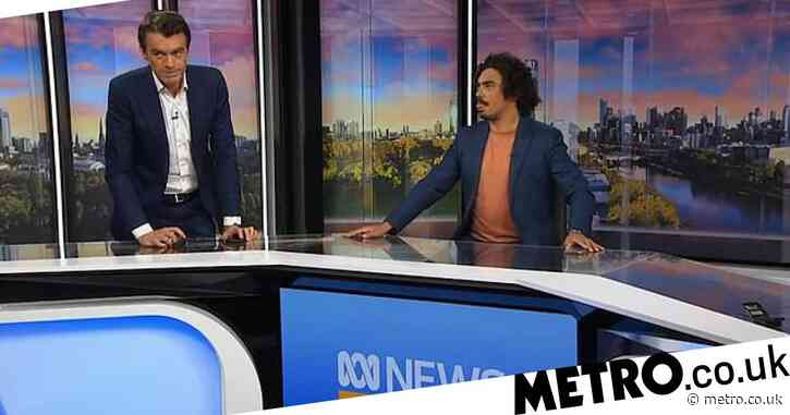 'Holy sh*t!': Moment Melbourne earthquake hits TV studio as stunned presenters react on camera