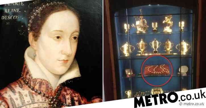 Man arrested over theft of Mary Queen of Scots' rosary beads in £1,000,000 raid