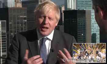 Boris blasts 'anti-vax' Strictly stars: PM says everyone should have Covid jab
