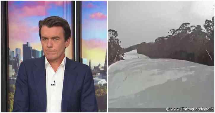 Terremoto di magnitudo 5,8 in Australia: la scossa ripresa in diretta tv e dalle telecamere delle piste da sci di Mount Baller – Video