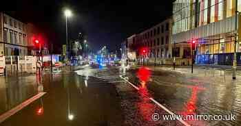 Manchester flooding: Major incident declared as streets and university left underwater