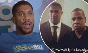 Anthony Joshua once believed Jay-Z was going to PUNCH him while at a film premiere