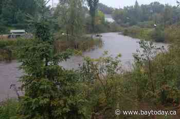 Potential for flooding based on weather forecasts warns MNRF - BayToday.ca