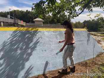 Giant mural kicks off Magnetawan beautification project - The North Bay Nugget