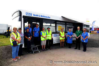East Riding of Yorkshire COVID-19 Vaccination Bus Hailed as a Success - This is the Coast
